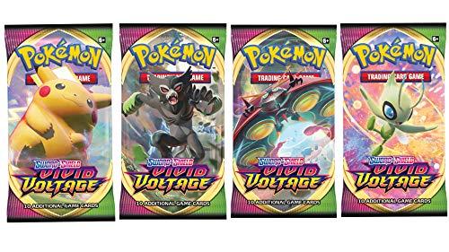 Pokemon Vivid Voltage 4 Booster Packs