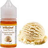 Hobbyland Candy Flavors (French Vanilla Flavoring, 1 Fl Oz), French Vanilla Concentrated Flavor...