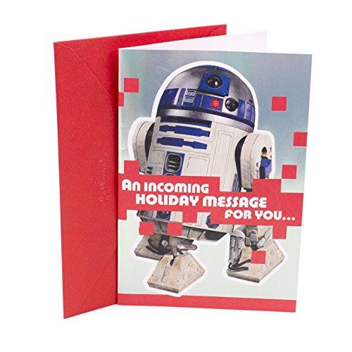 Hallmark Star Wars Christmas Card with Song (R2D2, 'Jingle Bells')