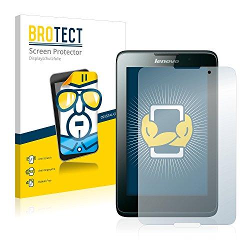 BROTECT Schutzfolie kompatibel mit Lenovo Tab A7-40 (2 Stück) klare Bildschirmschutz-Folie
