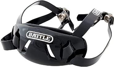 Battle Chrome Chin Strap, Black, Adjustable