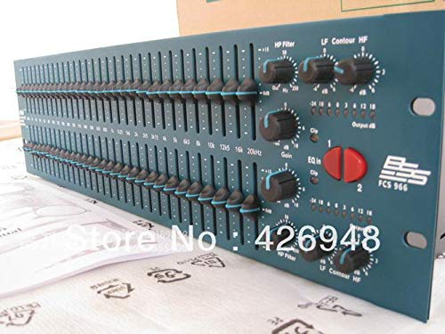 Buy Discount Ochoos New FCS 966 Two Channel Graphic Equalizer,30 Constant Q Frequency Bands BSS Audio Opal FCS-966 Graphic Equalizer