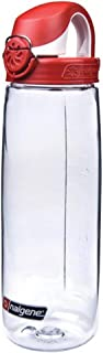 Nalgene 24 oz Tritan On the Fly Water Bottle - Clear/Red