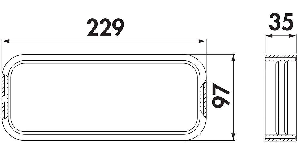 Naber SF de Perfil Junta para Canal Plano Tubos SF-515 VRO Flex y VRO/compair Steel Flow 150 (Sistema Diámetro 150): Amazon.es: Hogar