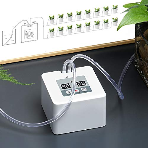 DIY Micro Automatic Drip Irrigation Kit, Self Watering System with Timer and USB Power Operation,...