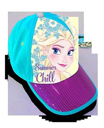 Disney Unisex Kinder Gorra Premium Con lentejuelas de Frozen Kappe, bunt, Einheitsgröße