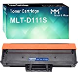 (1-Pack, Black) Compatible D111S MLT-D111S Toner Cartridge 111S Used for Samsung SL-M2020W M2074FW M2070FW M2078FW Printer, by MuchMore