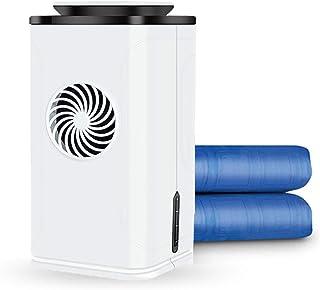 KY&CL Colchón de Agua de enfriamiento, colchón de Hielo con Sistema de acondicionamiento de Cama de refrigeración - para hogar, Dormitorio, apartamento y albergue, azul-160x70 cm,Azul