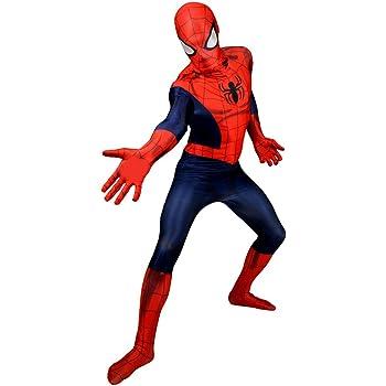 Spider-Man La peur elle-même Costume Cosplay Costume Spider Combinaison pour Adultes /& Enfants