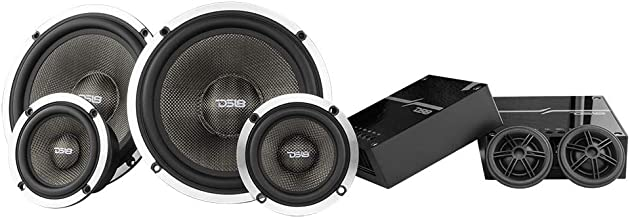 "$299 » Sponsored Ad - DS18 DX3 Deluxe 6.5"" 3-Way Quality Component Speaker System - 580 Watts, 4 Ohm - Set with Woofer, Midrange,..."