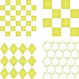 Plantillas de estarcir con diseño geométrico reutilizable de alambre de pollo de diamante cuadrado