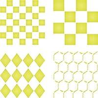 ステンシルステンシル再利用可能な図形のペイント–最高品質Squaresダイヤモンドとチキンワイヤ–使用on壁、床、ファブリック、ガラス、木製、カード、and More。。。 M