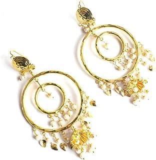 Indian Wedding Jadau Navratan Traditional Ethnic Jhumka Punjabi Muslim Earrings Tika Set