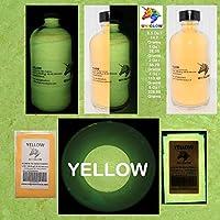 UniGlow 暗闇で輝く蛍光粉末染料  32 Oz / 907.18 Grams イエロー 687928337366