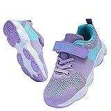 Vivay Toddler Shoes Purple Kid's Sneakers Boys Girls Cute Casual Walking Running Shoes