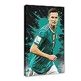 Fußballspieler Star Julian Draxler Wall Sports Poster 9
