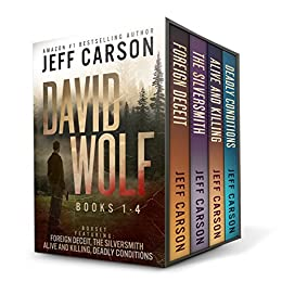 The David Wolf Mystery Thriller Series: Books 1-4 (The David Wolf Series Box Set) by [Jeff Carson]