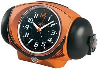 (セイコークロック) SEIKO CLOCK ウルトラライデン クォーツ目覚まし時計 NR441E 大音量ベル音 ウルトラモード オレンジ アナログ