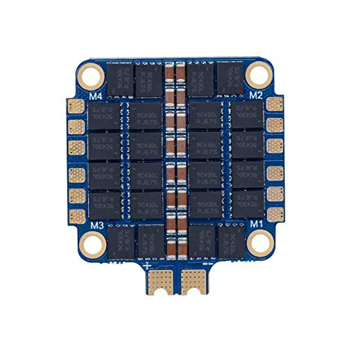 iFlight SucceX 50A 2-6s ESC 32bit BLHeli 32 4-in-1 ESC with Telemetry Pad Built in Current Sensor DSHOT600 for FPV Racing Drone Quadcopter