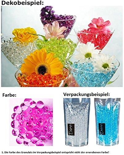 Deko, Dekoperlen,Aqualinos+Giant Pearls Wasserperlen Farbe Orchid 15-18mm