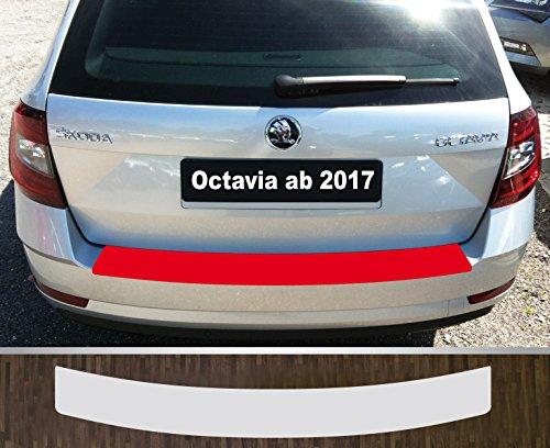 is-tuning passgenau für Skoda Octavia 3 Kombi 2013-2019 Lackschutzfolie Ladekantenschutz transparent