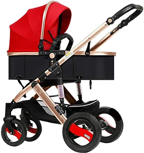Buy Discount Laz Pram Folding Baby Stroller, with 5 Point Safety System, Toddler Pram from Birth to ...