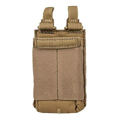 5.11 Tactical Series Flex Single AR Mag Pouch, Tasca supplementare, 11 cm, Canguro (Marrone) - 511-56424-134