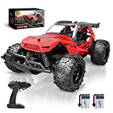 DEERC Remote Control Car, 2.4 GHZ RC Car, 25 KM/H Kids High Speed