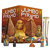 XXTOYS Ancient Egyptian Pyramids Dig Kit Gem Excavation Set STEM Science Educational Toys Archaeology Gifts for Boys & Girls
