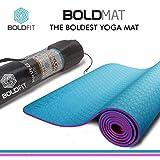 Boldfit BoldMat Pro Grip Other Yoga Mat (Blue)