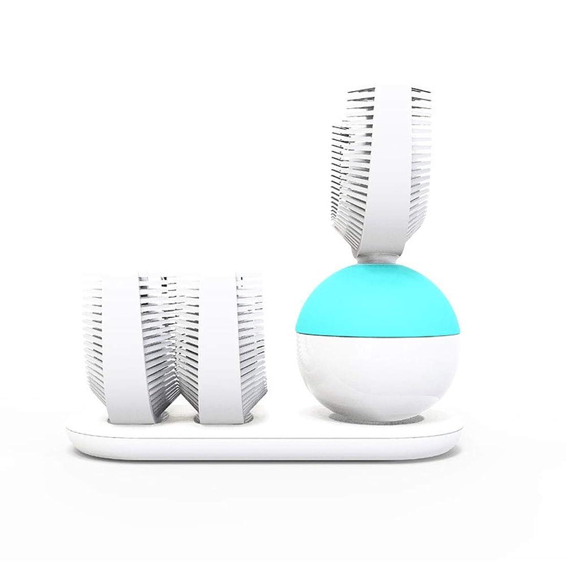それによってそよ風暴露スマートワインディング電動歯ブラシシリコーン電動歯ブラシ怠Laな歯ブラシ大人の自動歯ブラシ