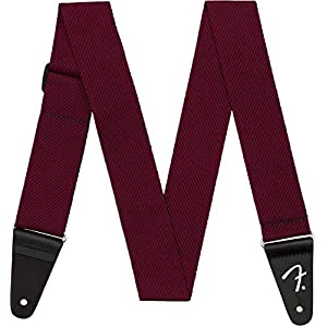Fender Modern Tweed Strap/Gitarrenguert, schwarz/rot