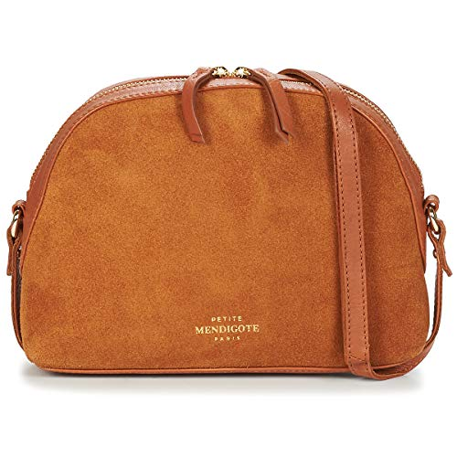 Petite Mendigote Brandy Bisacce/Tracolle Femmes Camel - Unica - Tracolle