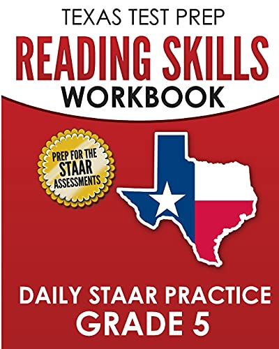 Compare Textbook Prices for TEXAS TEST PREP Reading Skills Workbook Daily STAAR Practice Grade 5: Preparation for the STAAR Reading Tests  ISBN 9781725167940 by Hawas, T.