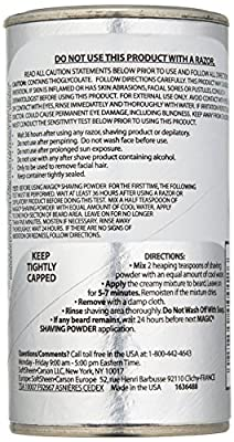 Original Magic (depilatory) No Razor Shaving Powder 127gm Stops Razor Bumps Skin Conditioning - Silver by softsheen carson