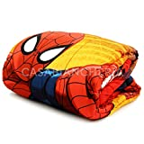 """- Marvel - Edredón invernal con estampa del personaje de ficción """"Spiderman,..."""