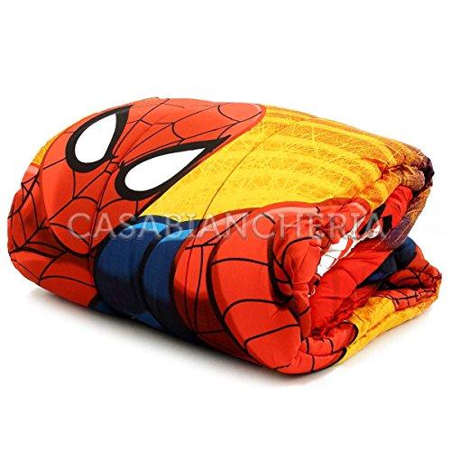 Trapunta piumone SPIDERMAN l'uomo ragno singola letto 1 piazza invernale Marvel