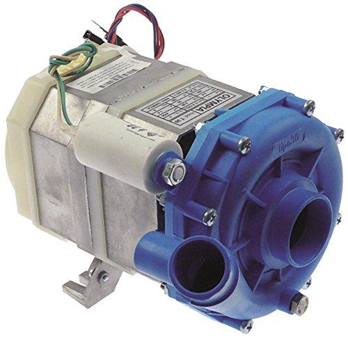 Olympia Pumpe T30 0,29kW/0,39PS passend für Bartscher für Spülmaschine 230V Eingang ø 45mm Ausgang ø 32mm Länge 190mm 50Hz