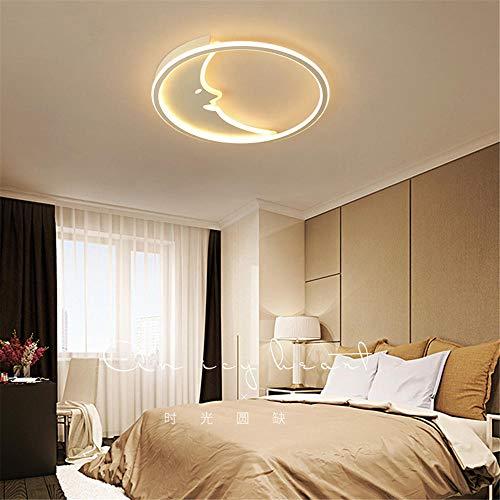 Moderne led-plafondlamp keuken dimbaar met afstandsbediening studio slaapkamer woonkamer werkkamer [energieklasse A] 63 * 63 * 6CM-65W Dimmer Continuo