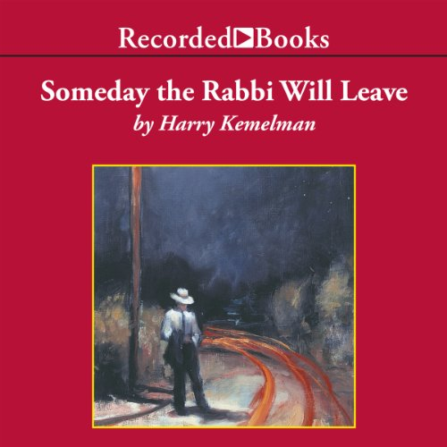 Someday the Rabbi Will Leave audiobook cover art
