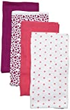 Care - Foulard Bébé fille, Lot de 4, Multicolore (Hot Pink 598) - Taille Unique...