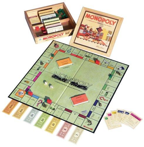 Hasbro Monopoly Nostalgia - Juego de Mesa (Caja de Madera, en Italiano) [Importado de Italia]