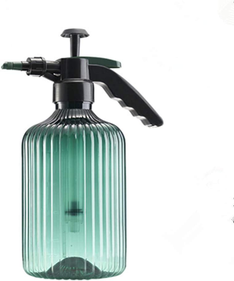 N/V Garden Watering Can,Hand Pressure Sprayer 2L Plastic Watering can for Gardening Watering Pump Spray Bottle (Green)
