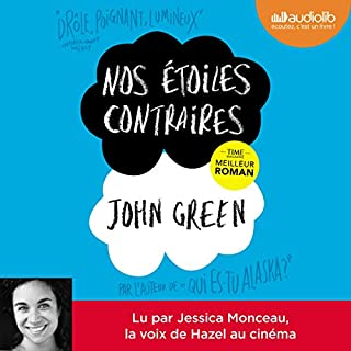 Nos étoiles contraires audiobook cover art