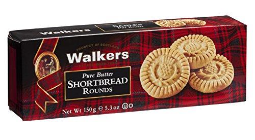 Paquete galletas escocesas shortbread rounds walkers 150 gr