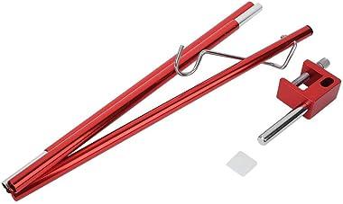 OKBY Foldable Light Pole Bracket-Outdoor Aluminium Alloy Portable Foldable Mini Light Pole Bracket for Camping Fishing Lighti