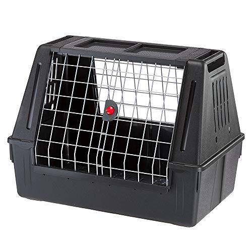 Trasportino per Cani da Auto ATLAS CAR 80 SCENIC con Agganci di Sicurezza Ottima Aerazione