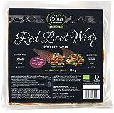 Wraps de remolacha veganos de Planet Plant-Based (4 piezas) | La alternativa saludable a las tortillas de trigo | Fajitas de remolacha nutritivas | Orgánicos | Veganos | Sin gluten
