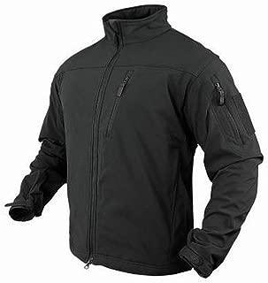 Condor Phantom Soft Shell Jacket (Black, Large)