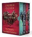 Delirium Series The Complete 4 Books Collection Box Set by Lauren Oliver (Delirium, Pandemonium, Requiem & Delirium Stories)